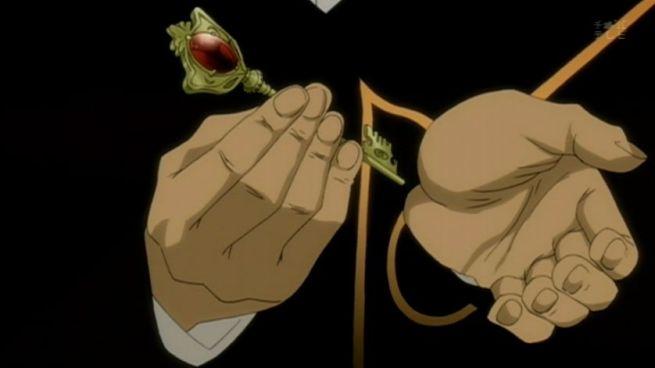 Umineko Animu how does I insert key